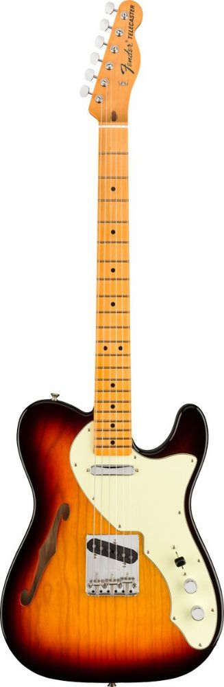 Fender American Original 60s Telecaster Thinline, Maple Fingerboard, 3 Color Sunburst